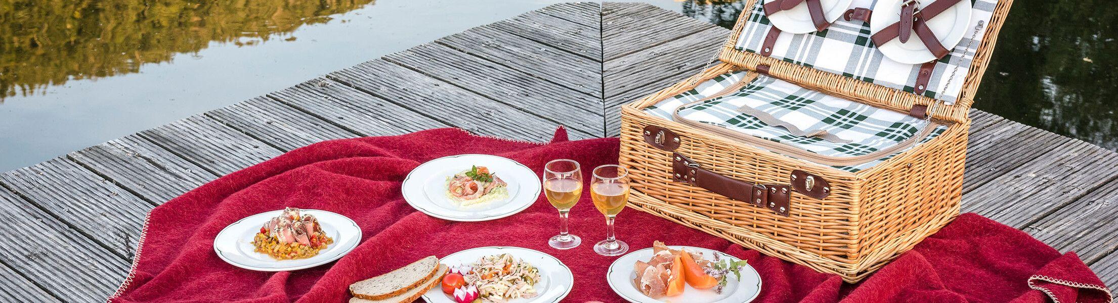 Picknick am See im Lammertal