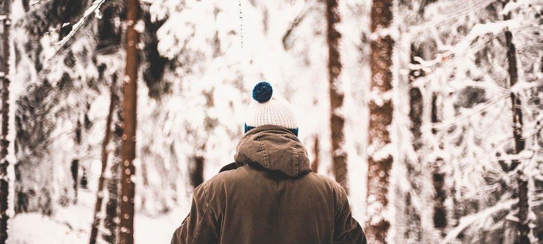 Wandern im Winter im Lammertal