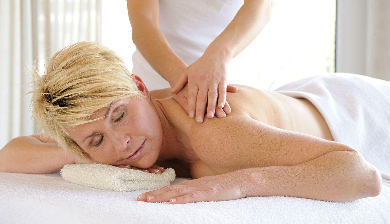 Massage in der Luxuslodge