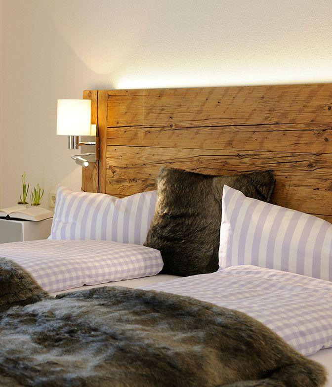 Bett in der Luxuslodge