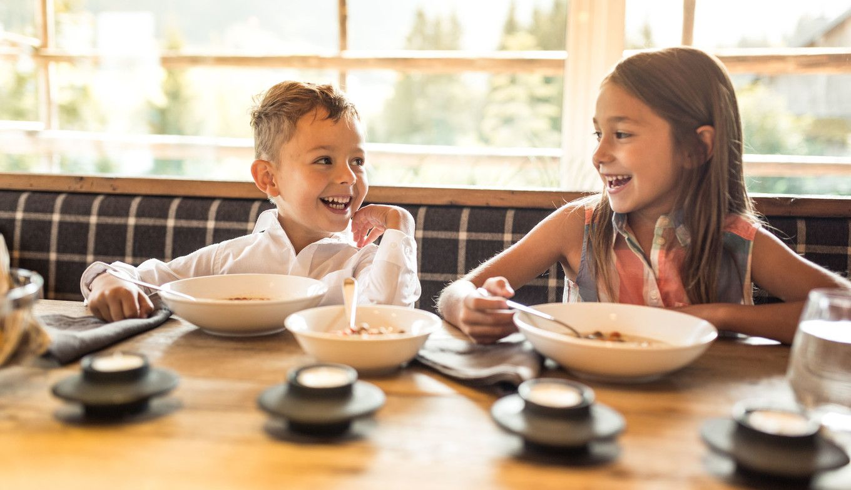 Luxuslosdge Kinder essen