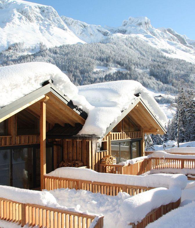 Luxuslodge im Winter