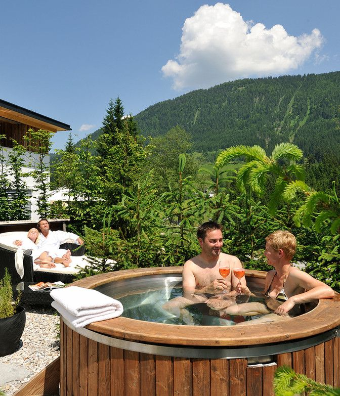 Luxuslodge Paar in Hot Tub