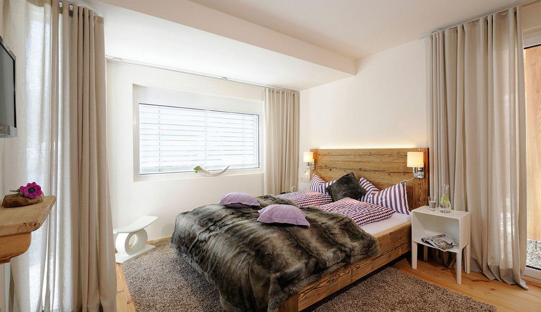 Chalet Birschofsmütze Schlafzimmer