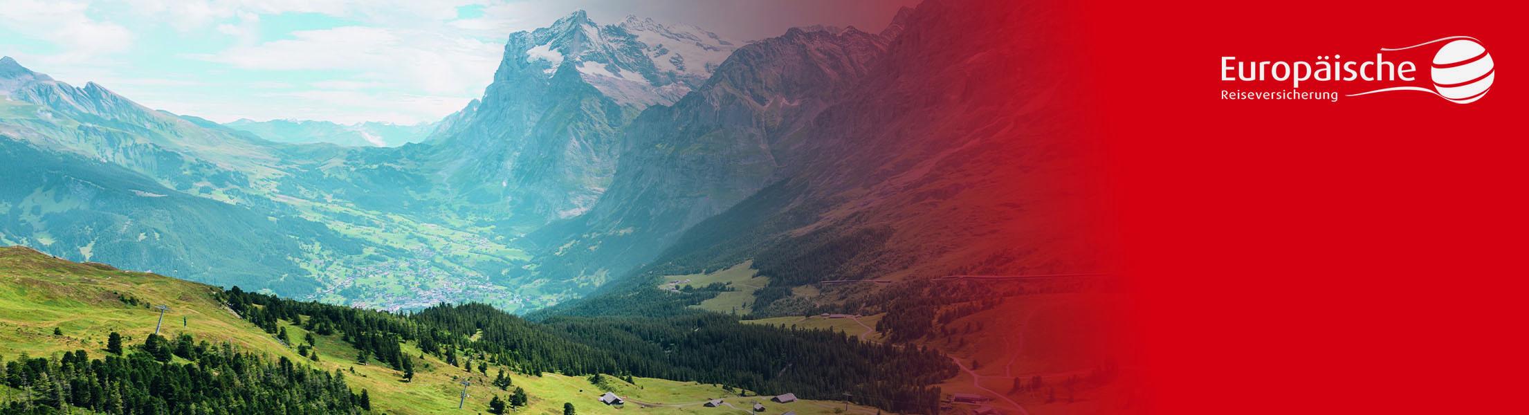 Banner der Europäischen Reiseversicherung