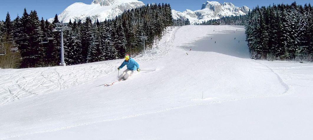 Skifahren am Kopfberg