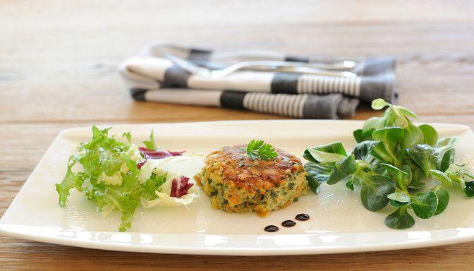 Luxuslodge Gemüselaibchen auf Teller